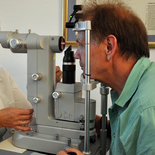 Selektive Laser-Trabekuloplastik (SLT)